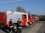 2004.11.05. Rosenbauer 5 db középkategóriájú gépjárműfecskendő átadás