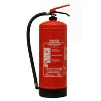 Vízzel oltó tűzoltó készülékek