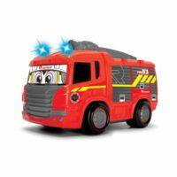 Boldog tűzoltóautó távirányítóval (játék)