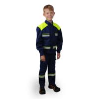 Gyermek tűzoltókabát