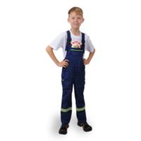 Gyermek kantáros tűzoltónadrág